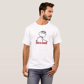Något liknande för ursinneansiktetecknad en rolig t-shirt