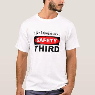 Något liknande mig alltid något att säga…, Tredje Tshirts