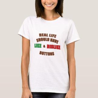 Något liknande och motviljar t shirts