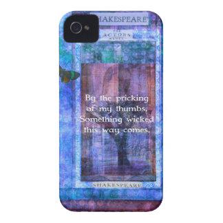 Något som är ond kommer hitåt, det Shakespeare iPhone 4 Case-Mate Fodraler