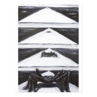 Något som är ond kommer hitåt (sekventiell konst) vykort