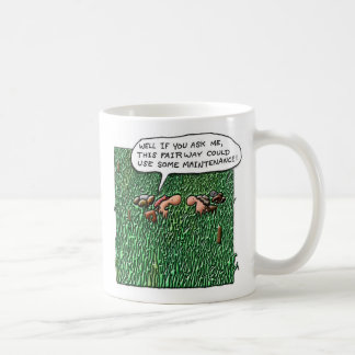 Något underhåll kaffemugg