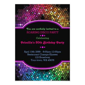 - några ålder, födelsedaginbjudanparty, Gatsby, 12,7 X 17,8 Cm Inbjudningskort