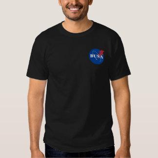 Några raketprogram dör aldrig BUSA-/NASAparodi Tshirts