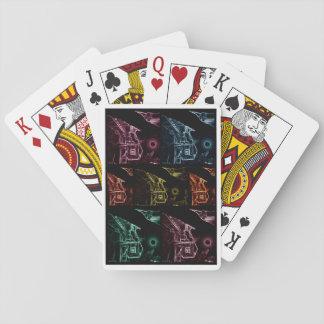 Nahala'ot abstrakt som leker kort 101 casinokort