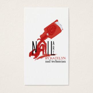 NailArt - affär/visitkort Visitkort