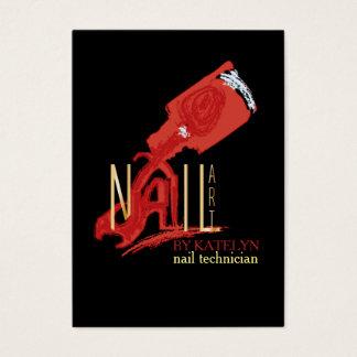 NailArt - affärs-/schemakort Visitkort