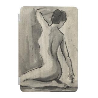 Nakenstudien skissar av kvinnligt förkroppsligar iPad mini skydd