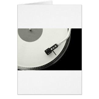 Nål för vinylTurntableskivspelare Hälsningskort