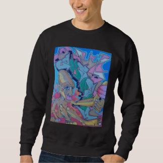 nål lång ärmad tröja