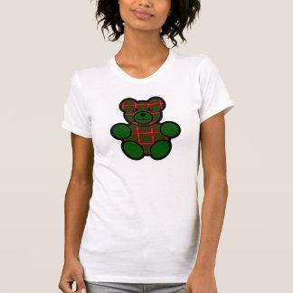 Nalle för Crawford Tartanpläd Tee Shirt