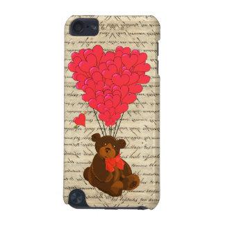 Nalle och hjärta iPod touch 5G fodral