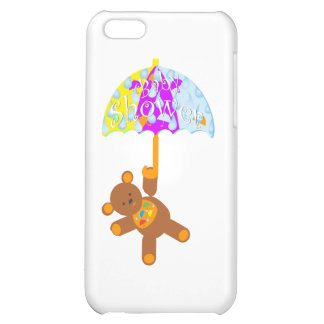 Nallebaby shower iPhone 5C mobil fodral