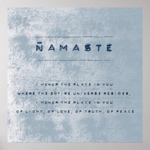 Namaste Affischer