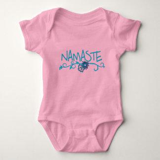 Namaste - bekläda för babyYoga Tshirts