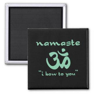 Namaste - jag bugar till dig (i grönt)