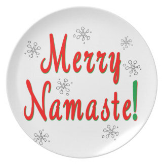 Namaste jul tallrik