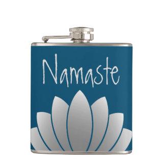 Namaste modern lotusblommablommigt