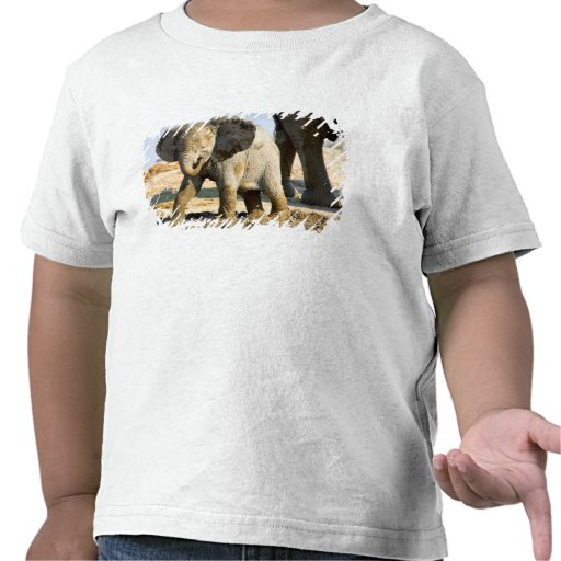Namibia afrika: Babyafrikanelefant T-shirts