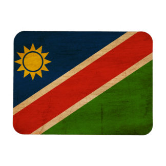 Namibia flagga magneter