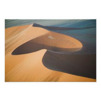 Namibia Soussevlei, underbara röda Sanddyner, Fototryck