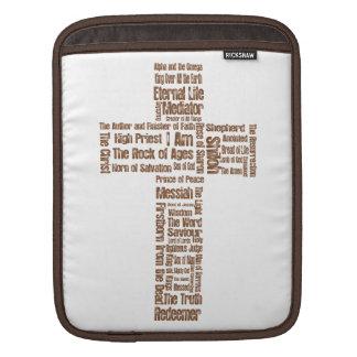 Namn av den Jesus kor Sleeve För iPads