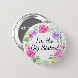 Namn bricka för syster för dusch för standard knapp rund 5.7 cm