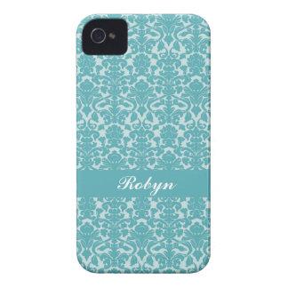 Namn för anpassningsbar för mönster för Robin iPhone 4 Case-Mate Skydd