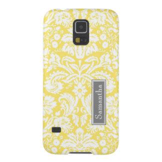 Namn för anpassningsbar för Samsung citron Galaxy S5 Fodral
