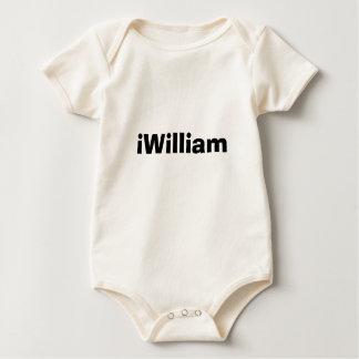 Namn för dator för Nerd för skjorta för William Body För Baby