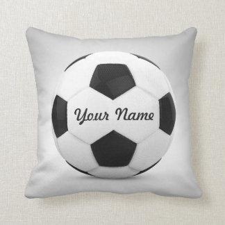 Namn för fotbollbollpersonlig kudde