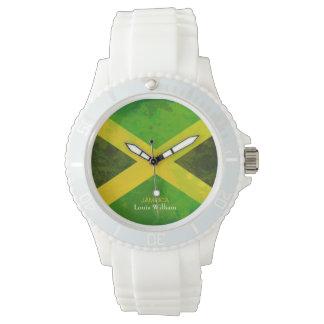 namn för landflaggajamaica rasta armbandsur