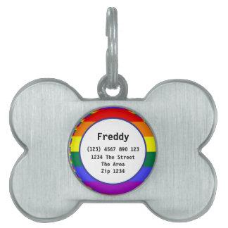 Namn för legitimation för gay prideregnbågeflagga