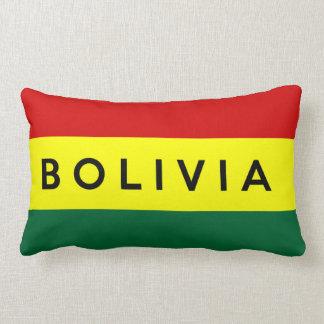 namn för text för bolivia landflagga lumbarkudde
