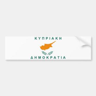 namn för text för land för cyprus flagga grekiskt bildekal
