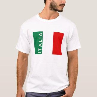 namn för text för land för italienitalia flagga t-shirt