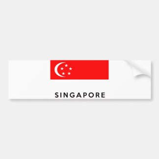 namn för text för singapore flaggaland bildekal