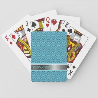 Namngiven Aqua vinkar Casinokort