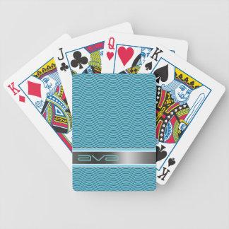 Namngiven Aqua vinkar Spel Kort