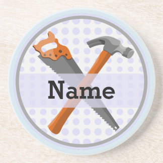 Namngiven personligverktygdesign för boys. underlägg sandsten