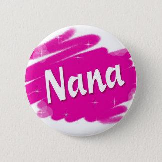 Nana älskar rosor standard knapp rund 5.7 cm