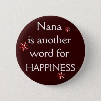 Nana = LYCKA Standard Knapp Rund 5.7 Cm
