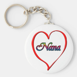 Nana Rund Nyckelring