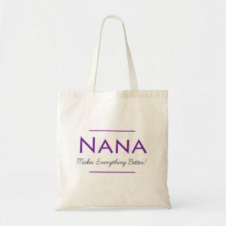Nana toto tygkasse