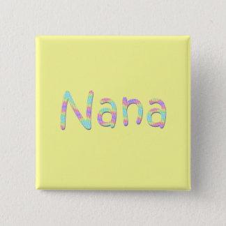 Nanas knäppas standard kanpp fyrkantig 5.1 cm