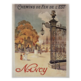 Nancy frankriken poster