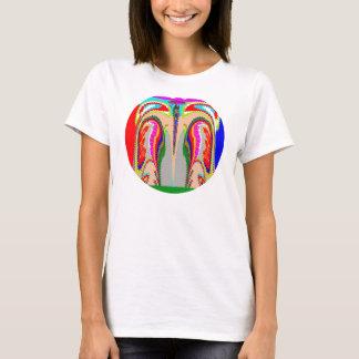 Nano kvinna för anslutning för fantasiSoulande Tshirts