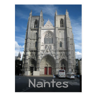 Nantes domkyrka vykort