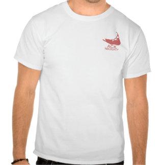 Nantucket ACK stygg rolig T-tröja