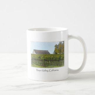 Napa Valley Kalifornien vingård och ladugård Kaffemugg